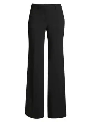 Theory Demitria Admiral Crepe Pants In Black
