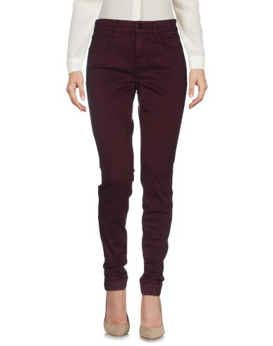 J Brand Casual Trouser In Deep Purple
