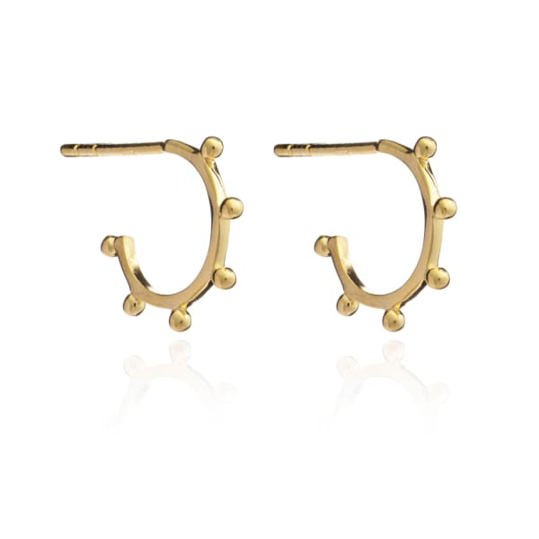 Rachel Jackson London Mini Punk Hoop Earrings