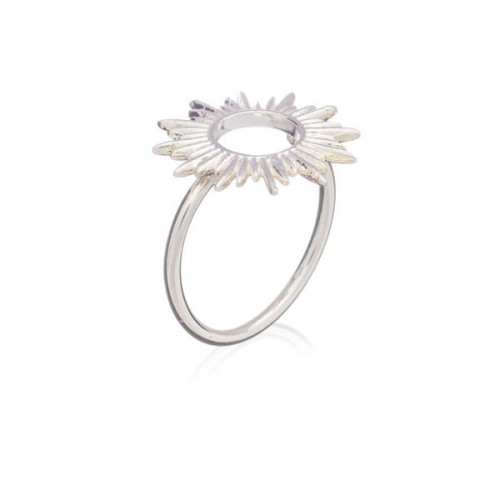 Rachel Jackson London Sunrays Ring In Silver