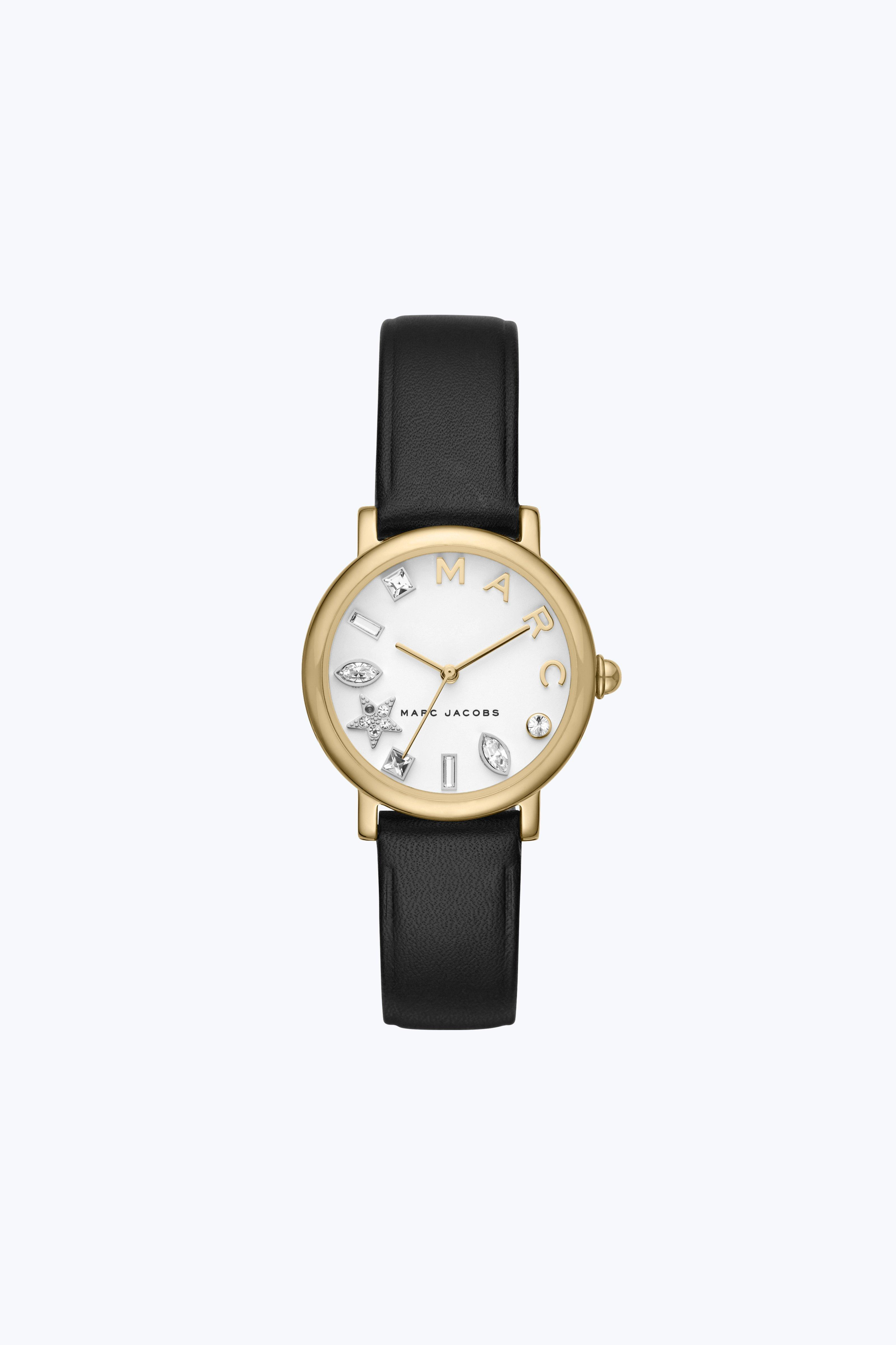 Marc Jacobs The  Classic Watch 28Mm In Black/Gold