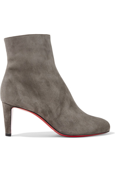 b79fd3275268 Christian Louboutin Top 70 Suede Red Sole Ankle Boot