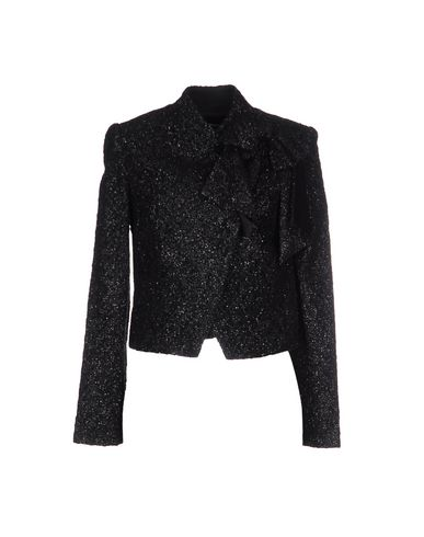 Alice And Olivia Jackets In Black