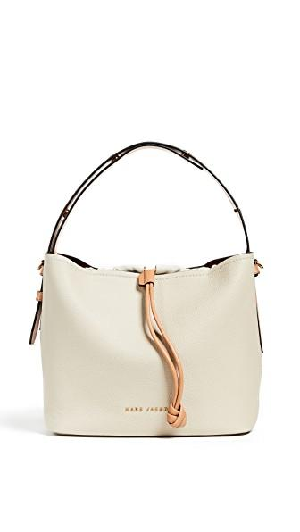 0158464c1 Marc Jacobs Road Leather Hobo - White In Antique White | ModeSens