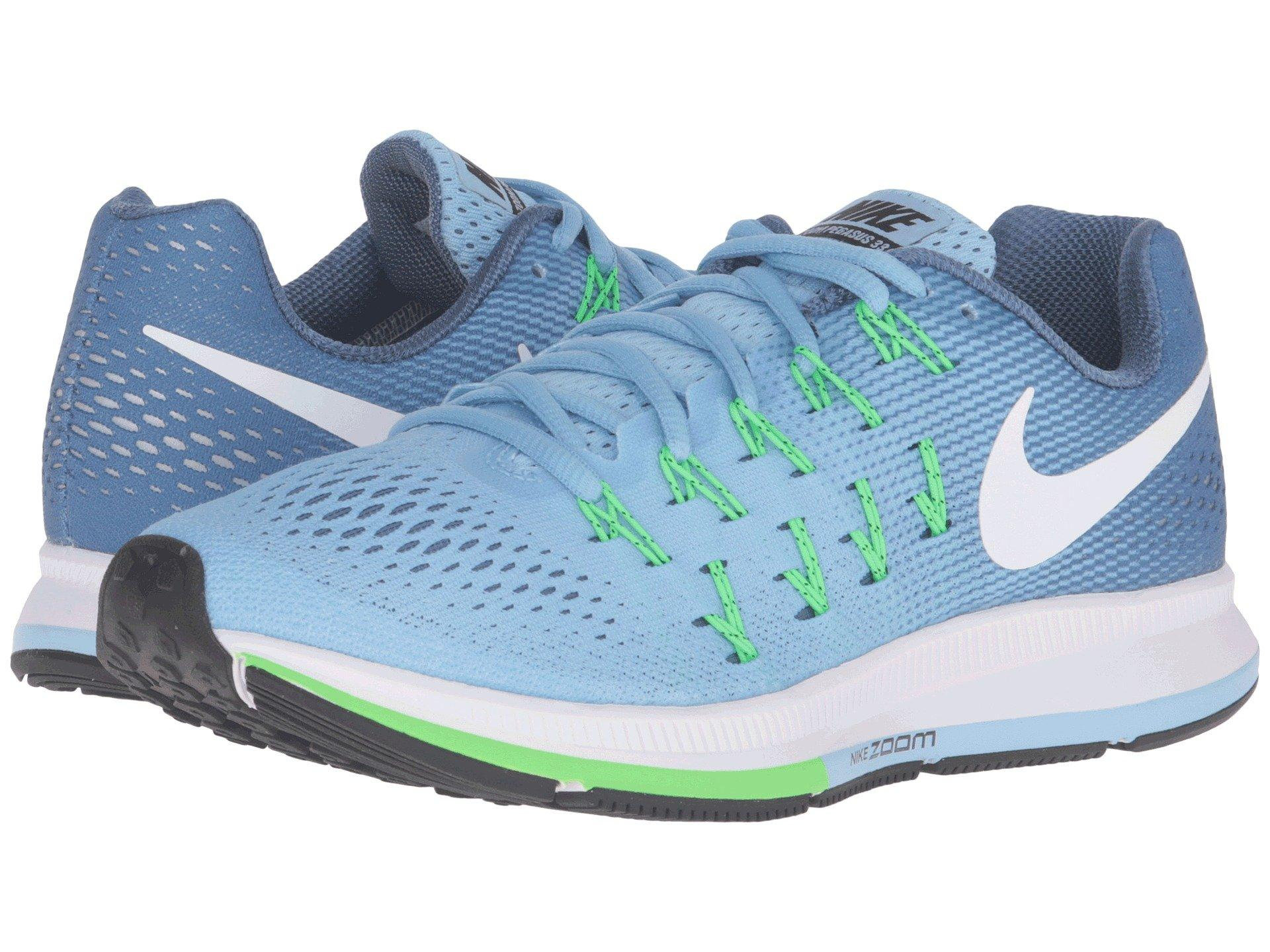 best sneakers 19edd a86af Nike Air Zoom Pegasus 33 In Blue Cap White Ocean Fog Rage Green