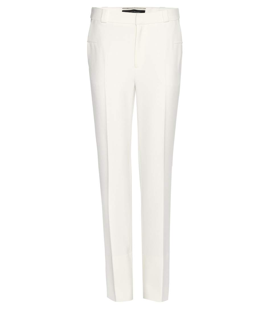Roland Mouret Lacerta Stretch CrÊpe Trousers