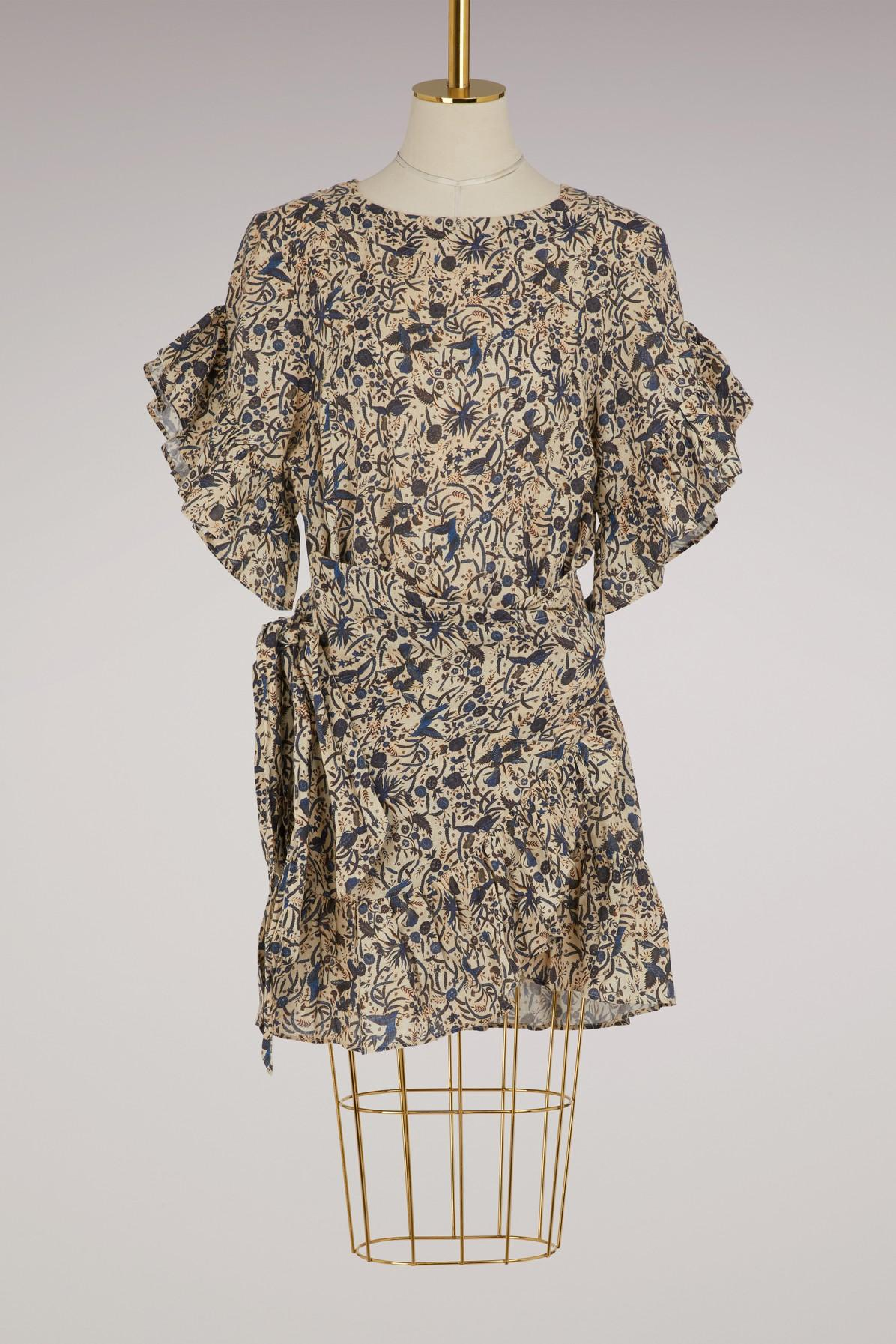 ca4bb12ef0 Store Status Price. Etoile Isabel Marant Linen Delicia Dress In Beige