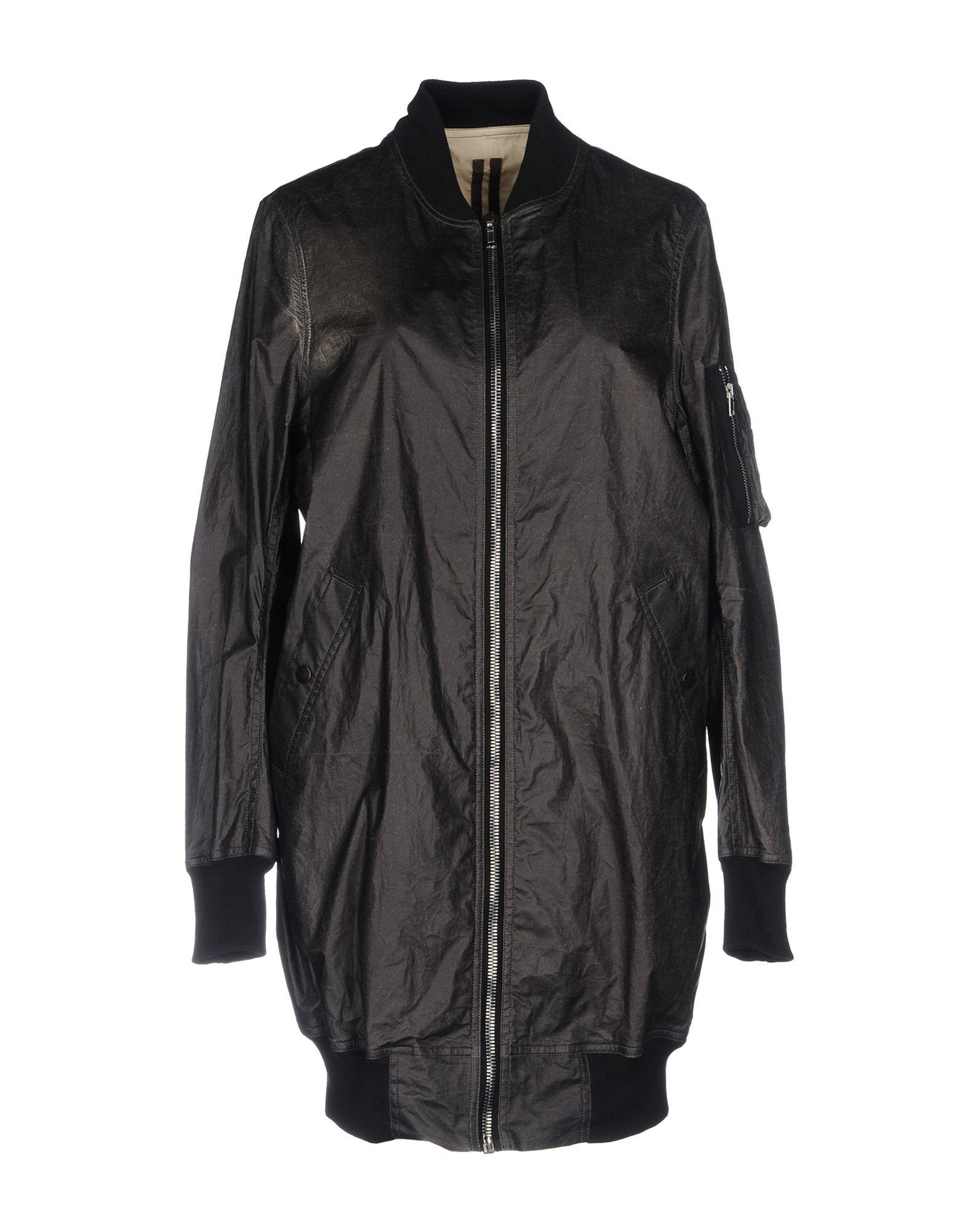 Rick Owens Drkshdw Jacket In Black