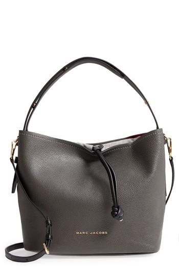 f7823945e1c Marc Jacobs Road Leather Hobo - Grey In Graphite | ModeSens