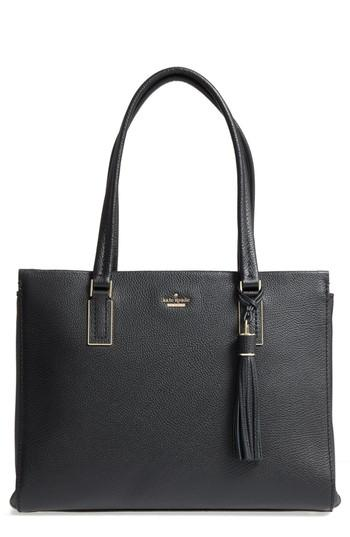 Kate Spade Kingston Drive - Bartlett Leather Satchel - Black