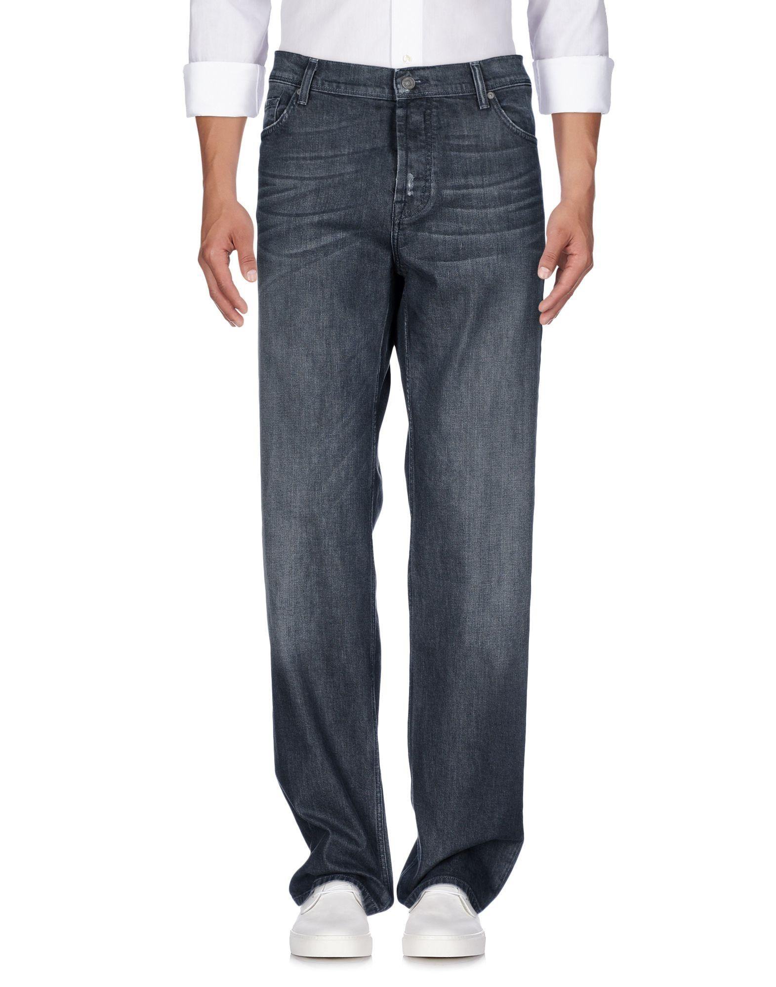 7 For All Mankind Denim Pants In Grey