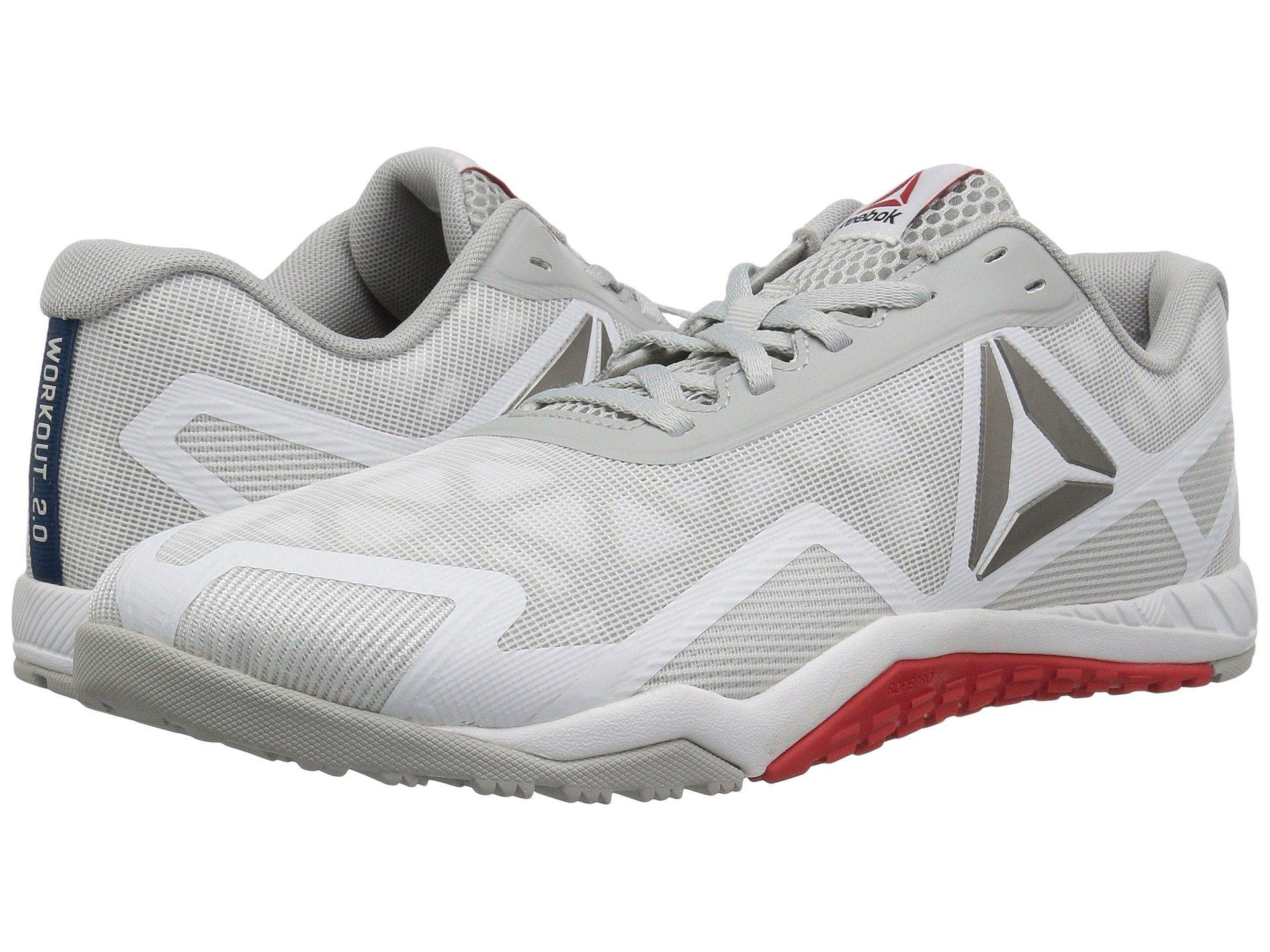 promo code fb3bf 2d0e3 Reebok Ros Workout Tr 2.0 In White Skull Grey Riot Red Noble Blue