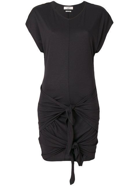 b1392977849 Etoile Isabel Marant Isabel Marant ÉToile Double Tie Dress - Black ...