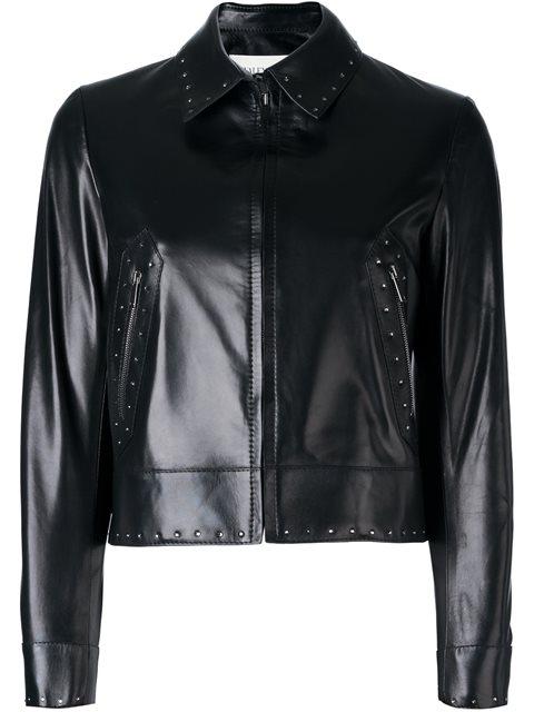 Valentino Studded Jacket In Black
