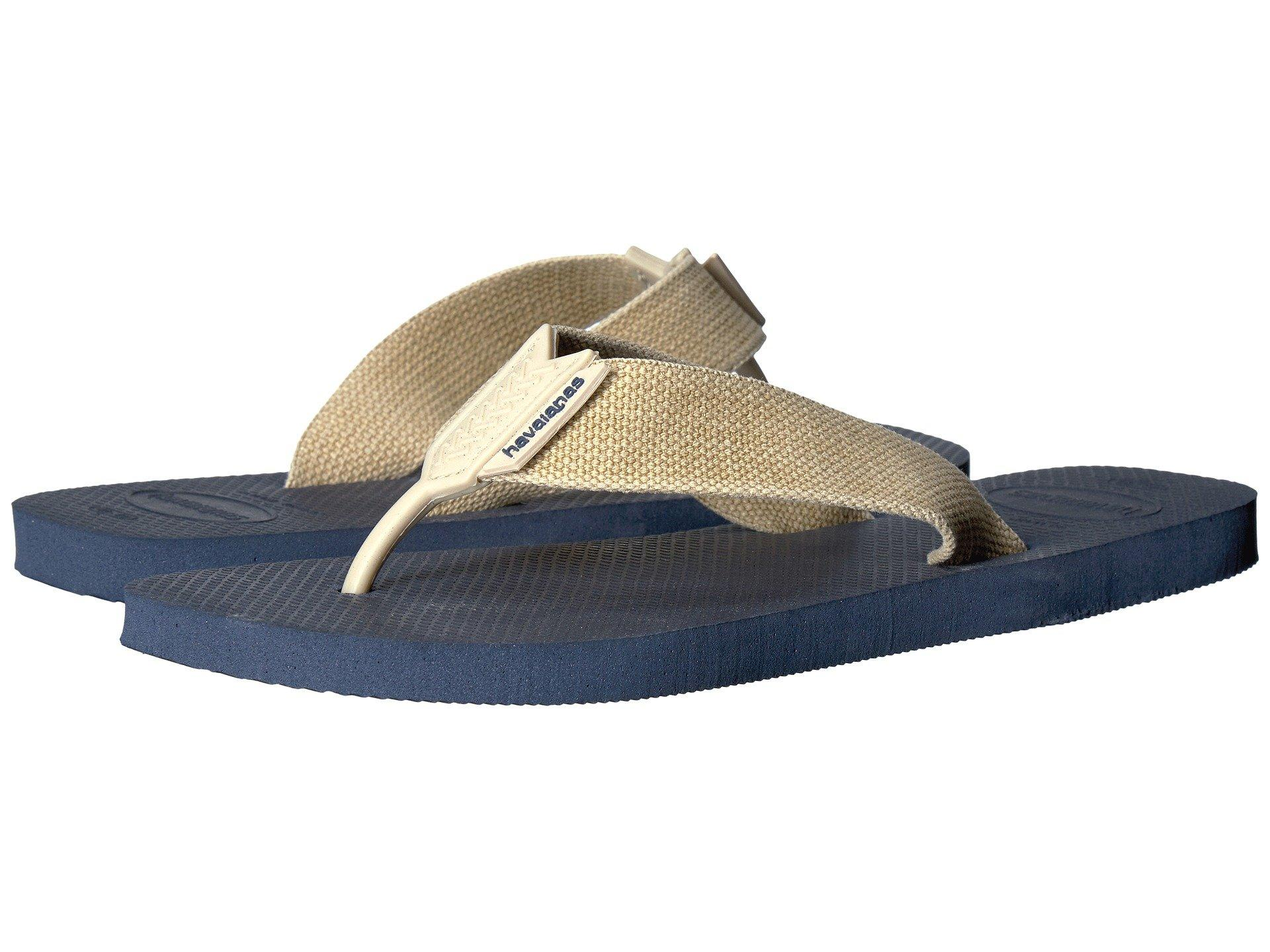 971fde71bce4 Havaianas Urban Basic Flip Flops In Navy Blue Sand Grey