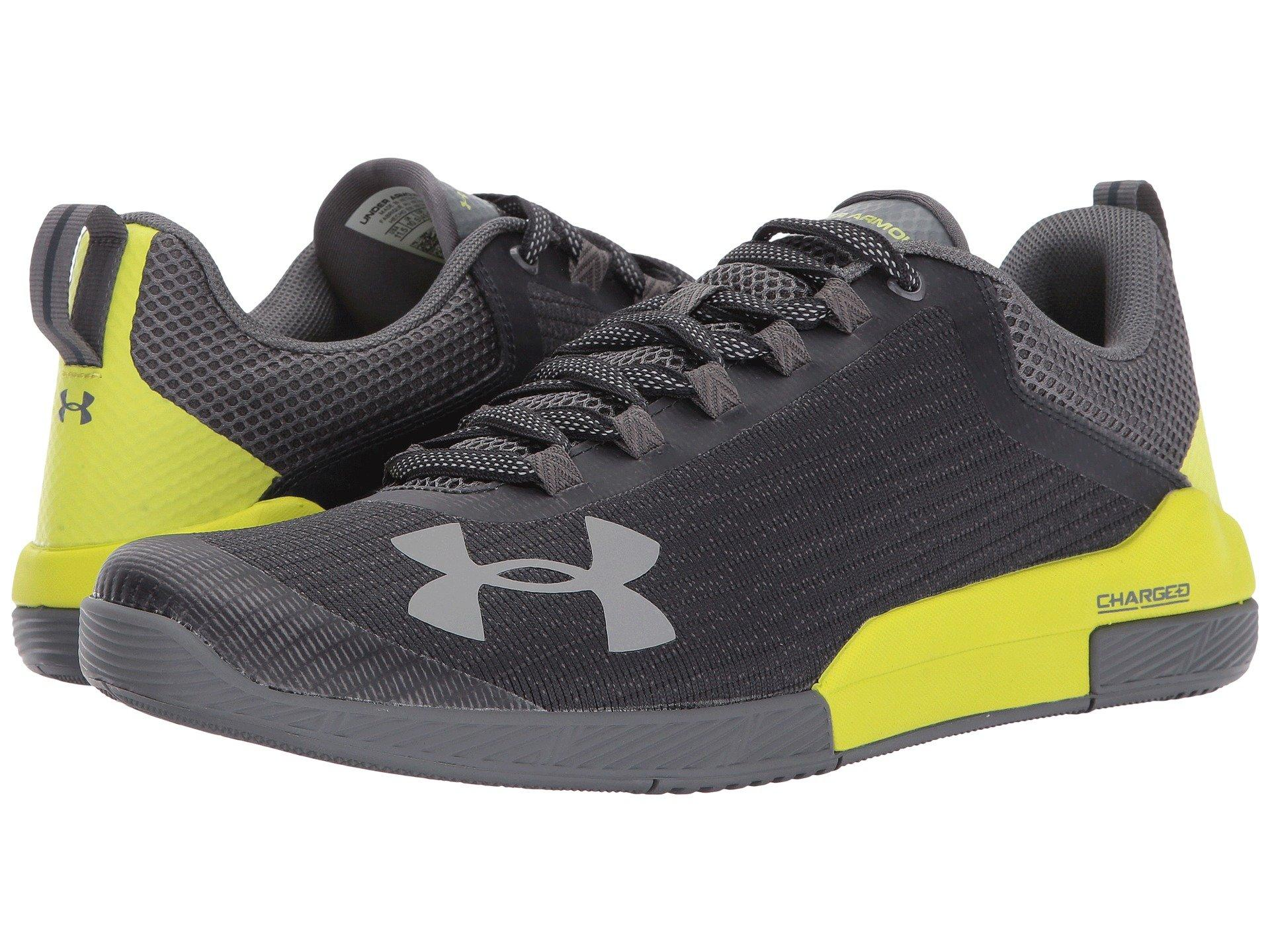 0e37aae8b672 Under Armour Ua Charged Legend Tr In Anthracite Smash Yellow Graphite
