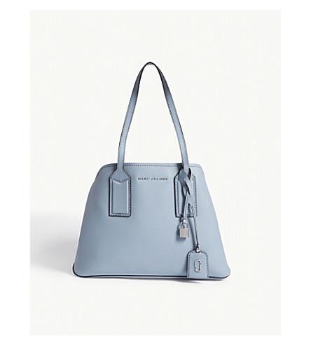 5151b5416c75 Marc Jacobs The Editor Leather Shoulder Bag In Light Blue