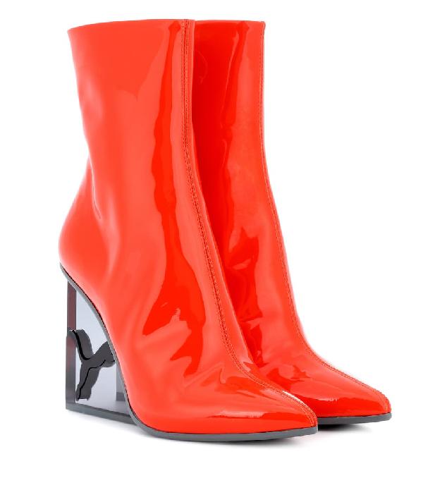 acd236261832f FENTY X PUMA. Fenty Puma X Rihanna Women's Patent Leather Cat Wedge ...