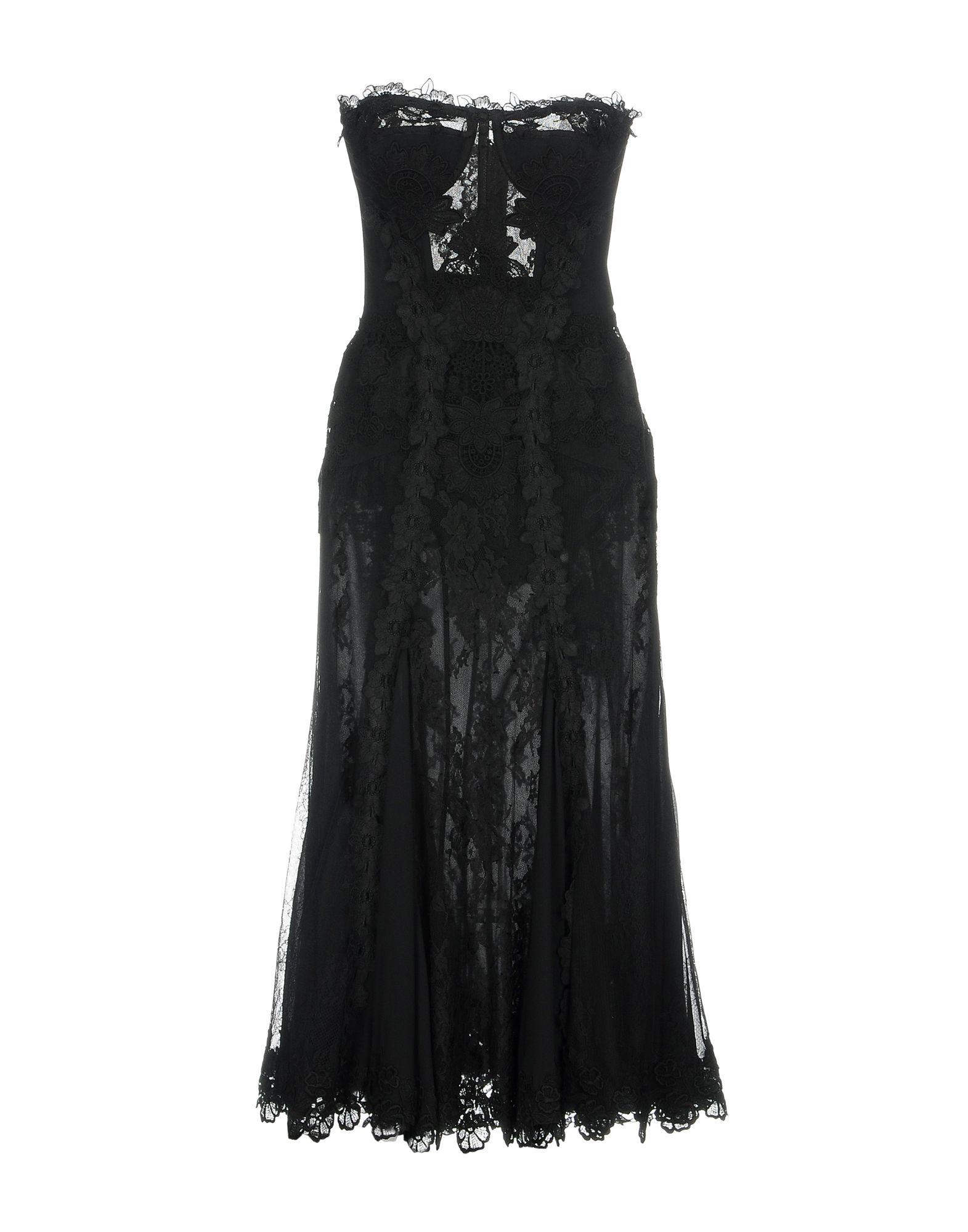 Dolce & Gabbana Knee-Length Dress In Black