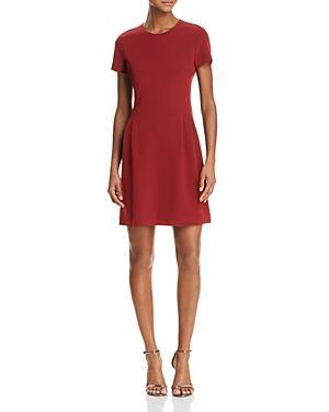 dbfc9e880e0 Theory Corset T-Shirt Dress In Bright Raspberry