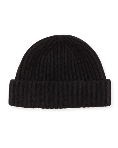 a12c1d9b24e12 Portolano Rib-Knit Cashmere Hat