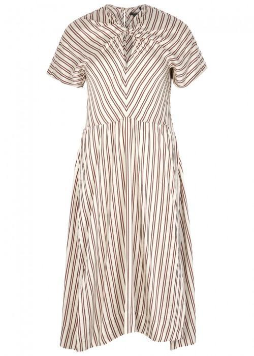 Isabel Marant Iris Striped Midi Dress