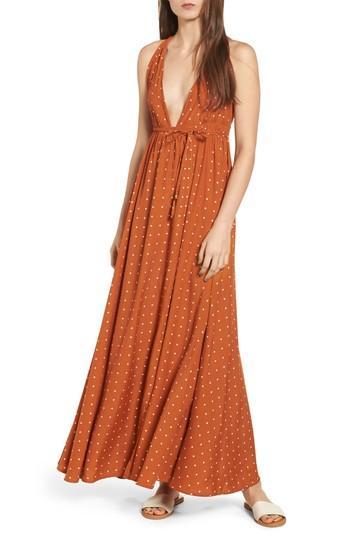 b85bb24826 Faithfull The Brand Santa Rosa Maxi Dress In Stefano Print - Ginger ...
