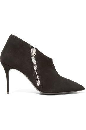 Giuseppe Zanotti Woman Suede Ankle Boots Black
