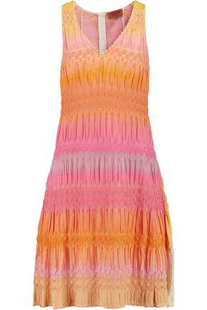 Missoni Woman Crochet-Knit Dress Multicolor