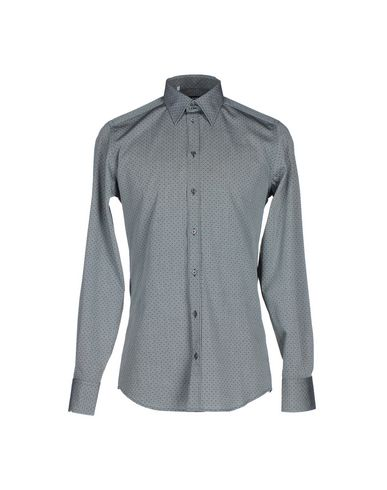 Dolce & Gabbana Solid Color Shirt In Grey