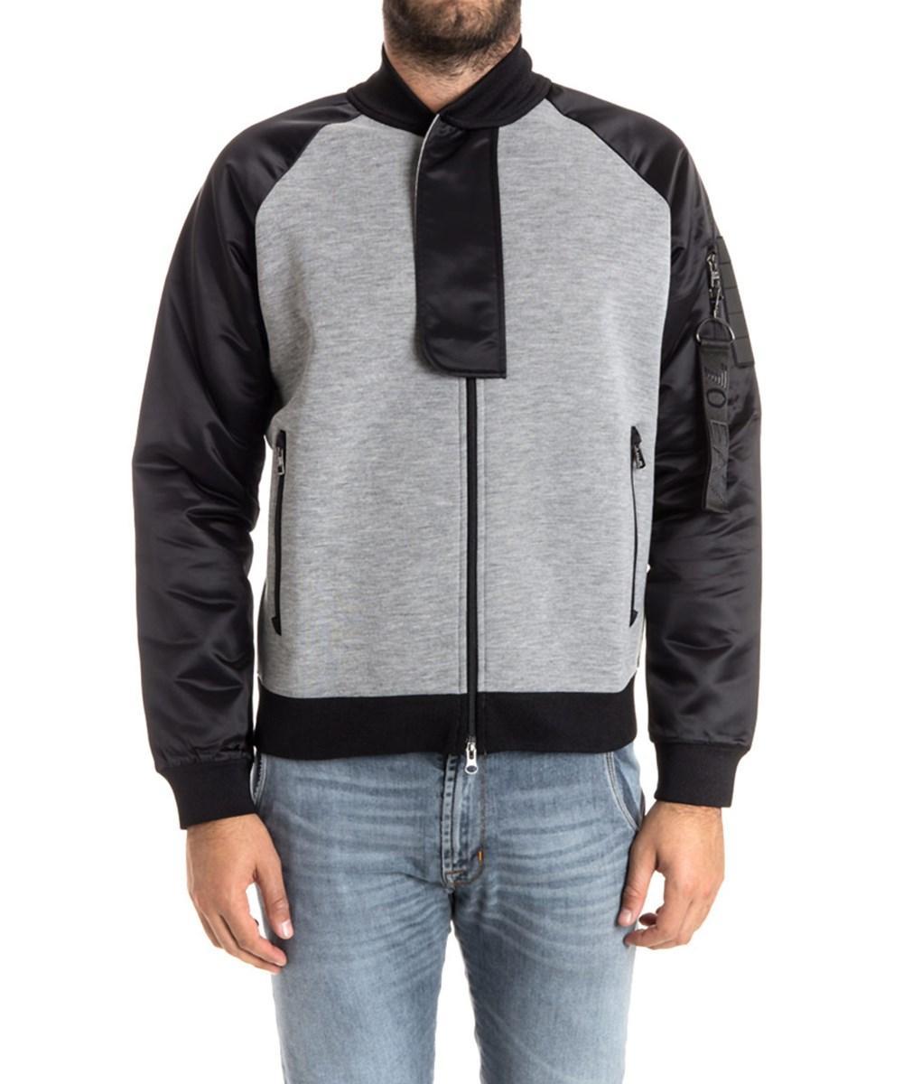 Emporio Armani Men's  Grey Polyester Sweatshirt
