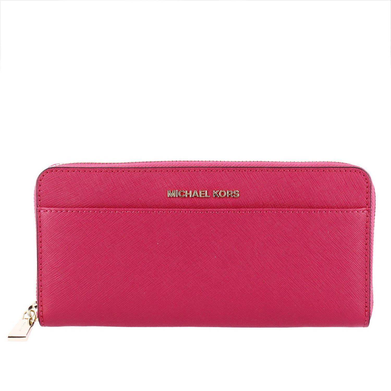 94ff9a89188 Wallet Wallet Women Michael Michael Kors in Fuchsia