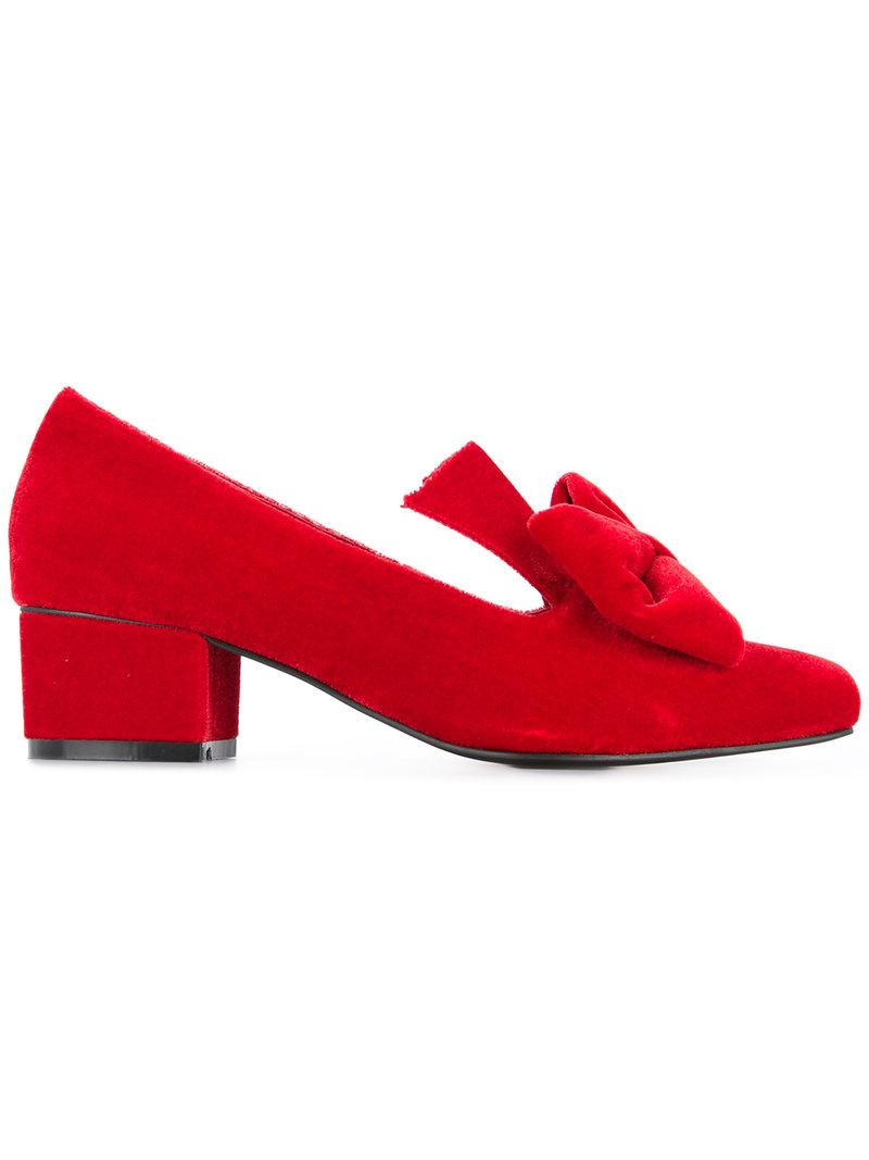 Macgraw Lady Love Pumps In Red