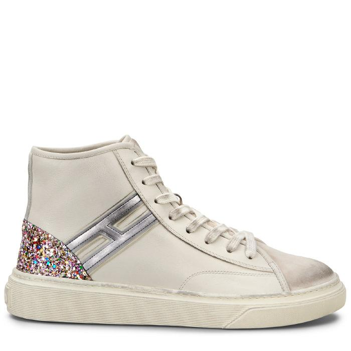 Hogan - Sneakers - H342 In Creme/lila/silber   ModeSens