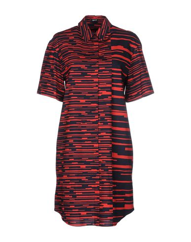 Jil Sander Shirt Dress In Red