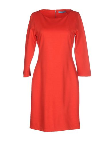 aa20d03f862 Alice And Olivia Gem 3 4 Sleeve Shift Dress In Red