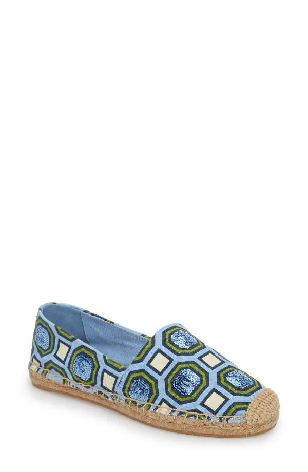 bddec4aab Tory Burch Women's Cecily Embellished Espadrilles In Octagon Square ...