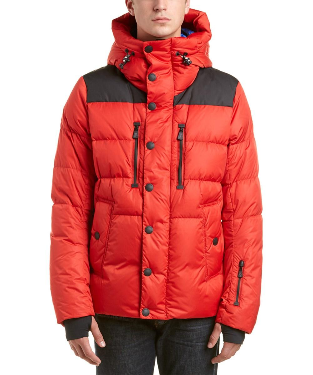 755c5b82a Moncler Grenoble Rodenberg Quilted Down Jacket in Orange