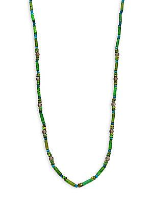 Stephanie Kantis Sultan Necklace In Bright Green