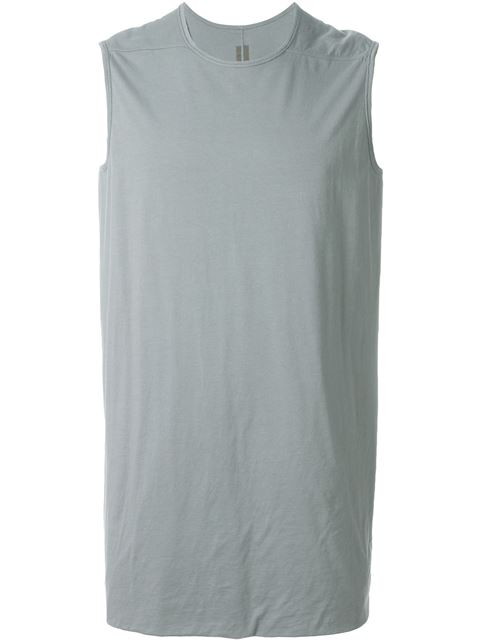 Rick Owens Drkshdw 'double Ls' Tank Top In Nude & Neutrals