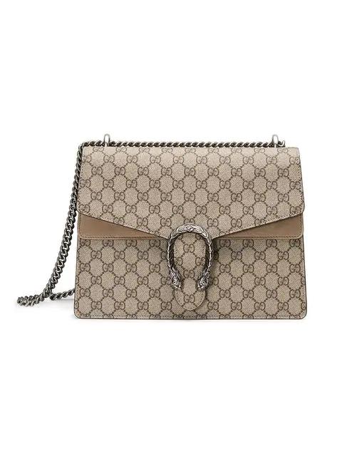 2d9dab90bb59 Gucci Dionysus Gg Supreme Medium Shoulder Bag In 8642 Beige   ModeSens