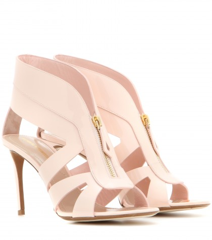 Nicholas Kirkwood Patent Leather Sandals In Pink