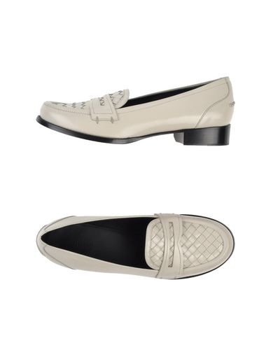 Bottega Veneta Loafers In Ivory
