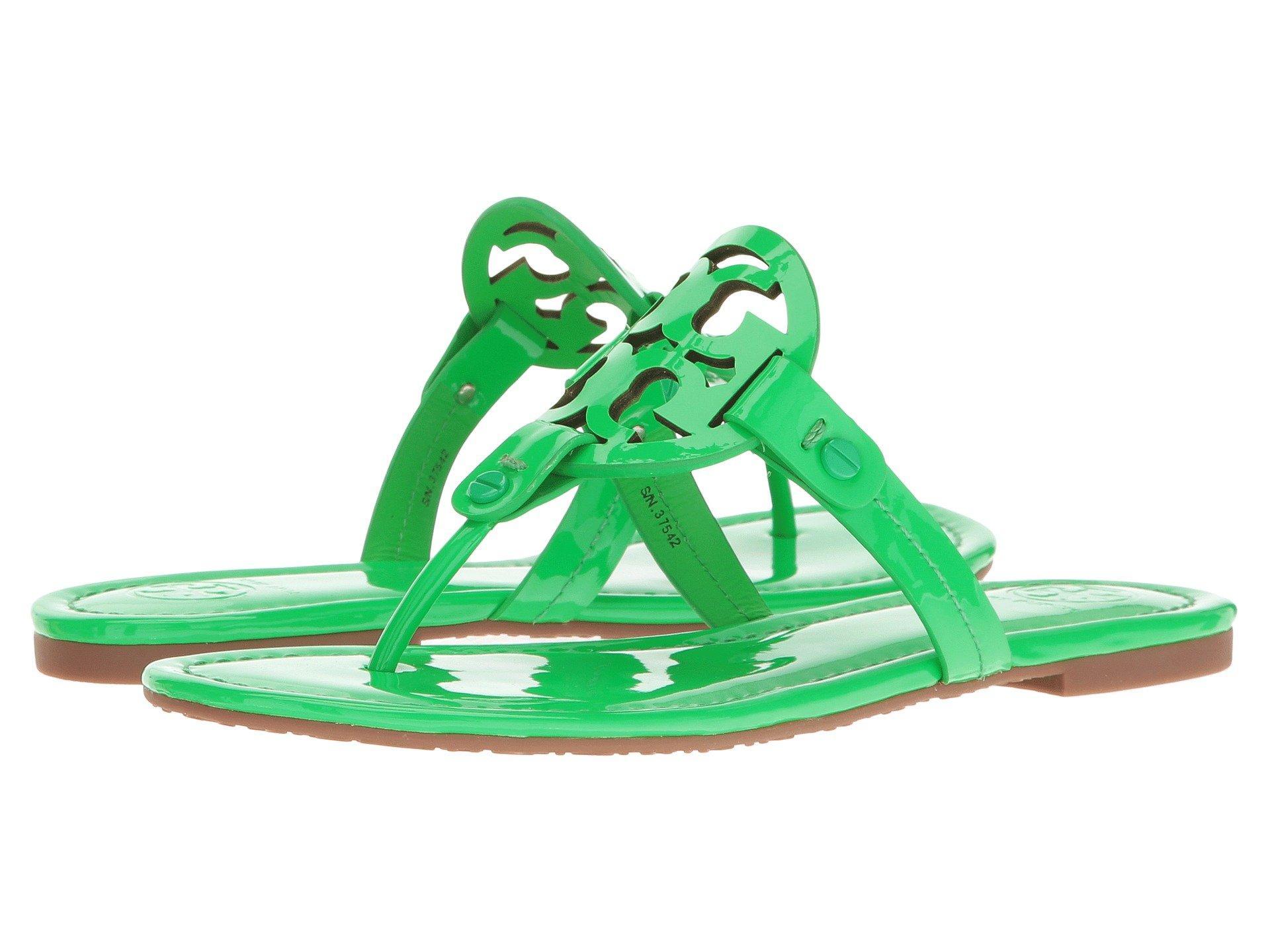 d5b7f7ce0075 Tory Burch Miller Flip Flop Sandal In Fluo Green