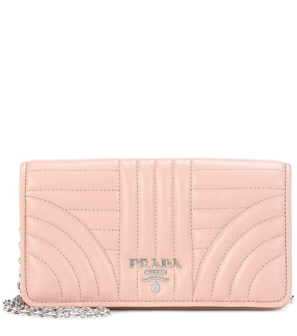 5537b37bf9bc Prada MatelassÉ Leather Shoulder Bag | ModeSens