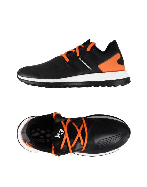 6625dbdb69cb5 Y-3 Pure Boost Leather Sneaker