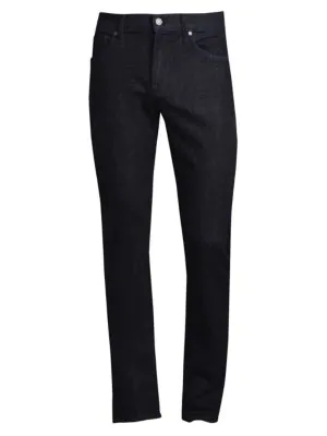 7 For All Mankind Slimmy Straight-Leg Jeans In Dark Blue