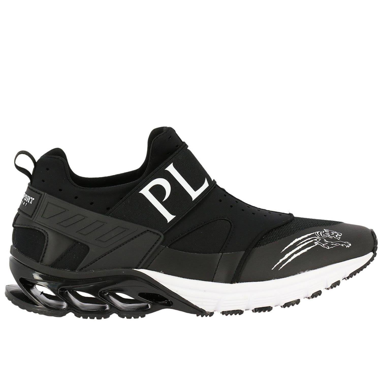 1f7d7a7c910 Philipp Plein Sneakers Shoes Men Plein Sport In Black
