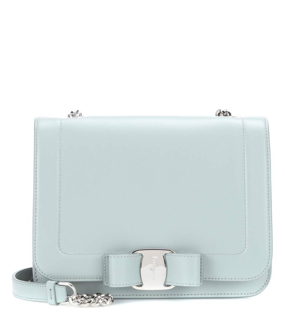 Salvatore Ferragamo Small Vara Rainbow Leather Shoulder Bag  bffc81ea40a5f