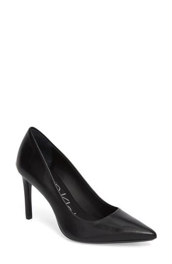 defa121cad7 Style Name  Calvin Klein Ronna Pointy Toe Pump (Women). Style Number   5517334. Available in stores.
